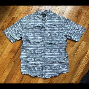 Retrofit Button Down Short Sleeve Shirt